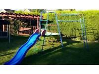 TP Climbing frame, monkey bars, platform & slide