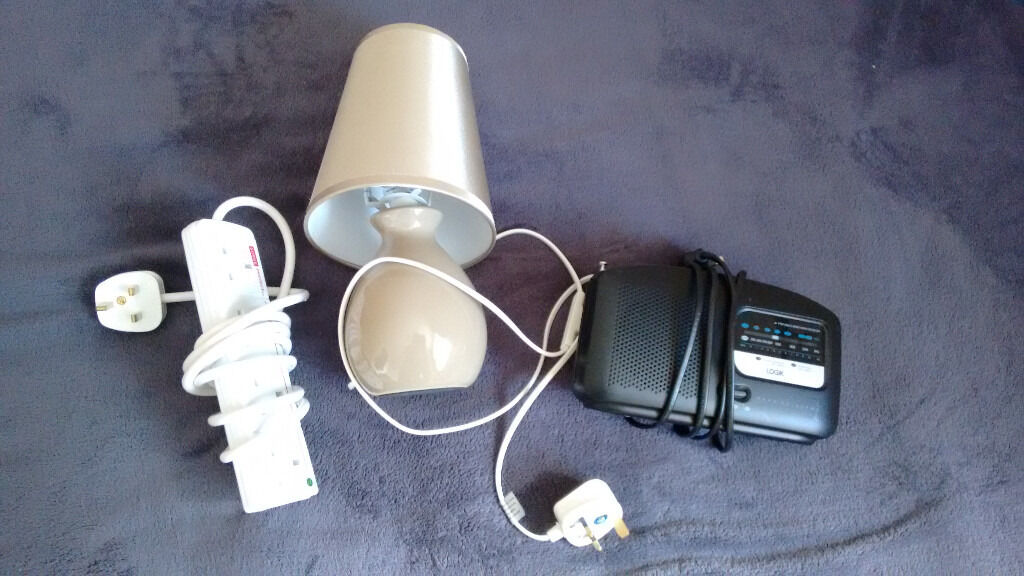 Quick Sale! Night Lamp, Radio, Extension Cablein Henbury, BristolGumtree - I have to sell 3 item for sale today. I am open for offers