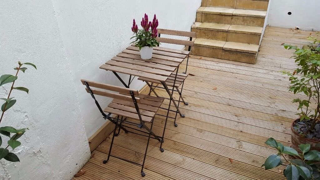 Ikea Tarno Outdoor Table And Chairs Set In Crystal Palace London Gumtree