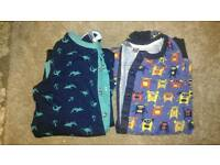 2 x Fat face onesies age 8-9