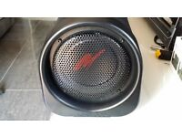 Kenwood Woofer with builtin amp