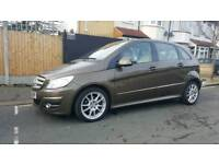 MERCEDES BENZ B CLASS 2.0 SPORT AUTO BRONZE COLOUR WITH BEIGE INTERIOR SPECIAL EDITION