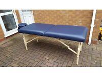 Portable massage table and carry bag £40 ono