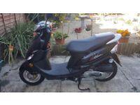 peugeot v clic evp2 49cc moped mint condition 12mths MOT IMACULATE CONDITION