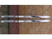 KASTLE Air Hammer Skis 1.95m + Poles/Sticks + Case
