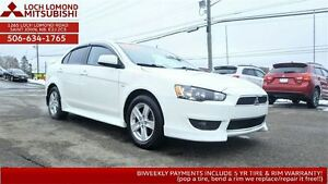 2014 Mitsubishi Lancer SE SUN & SPOILER for only $127 B/W!