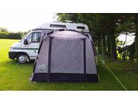 Khyam motordome quick erect awning/tent