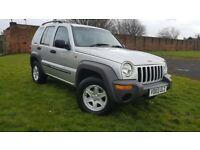 For sale Jeep Cherokee Sport 2.4 petrol MOT 11 months full V5 nice condition inside outside
