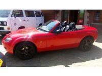 For Swap - Mazda MX5 2009 with only 58k miles. Drives Mint no issues!