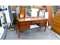 Quality Dressing Table with Triple mirrors.