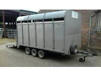 Beatman demountable stock trailer