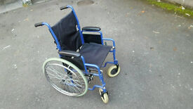 Folding Manual Wheelchair