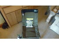 Middy 30plus easy carry robo chair new with rod rest attachment