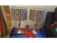 SET OF 2 TABLE LAMPS 48CM