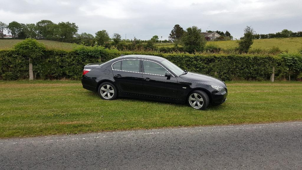 2006 bmw e60 520d manual full mot in ballynahinch. Black Bedroom Furniture Sets. Home Design Ideas