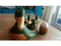 Vintage duck egg set