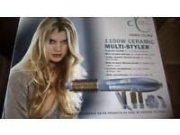Salon Solutions 1100w Ceramic Multi Styler (in box)