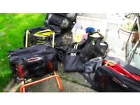 Complete football team training equipment