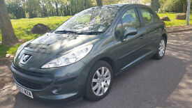 PEUGEOT 207,1.6 HDi ,looks and drives like new car