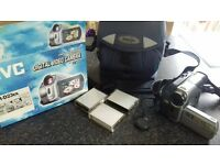 jvc camcorder with films