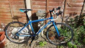 Carrera zelos jnr road bike (children/ teen)