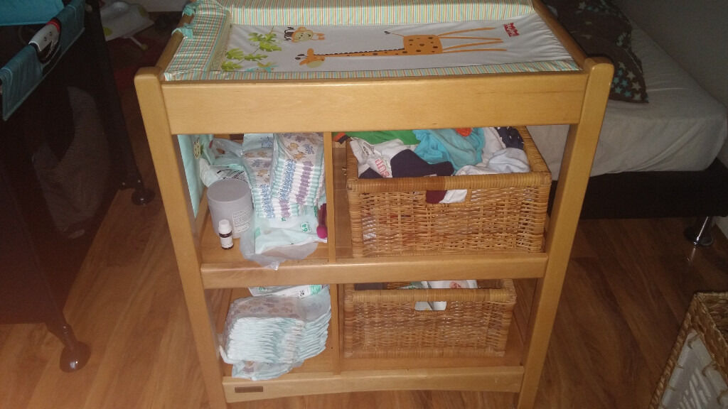 Baby changing table mamas and papas £20