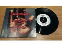 Massive Attack. Unfinished Sympathy. 7inch vinyl