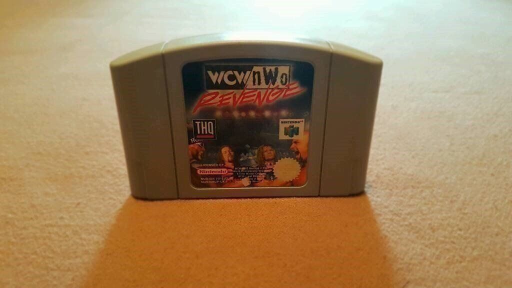 Nintendo 64WCWNWO Revengein East London, LondonGumtree - For Sale is WCW / NWO Revenge on the Nintendo 64 All in perfect working order, Over 30 WCW Superstars to choose from and various match types. Relive the old WCW days Collection Walthamstow or Pay Pal Accepted!