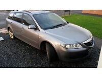 Mazda 6 2.0 estate petrol lpg breaking for spares/parts