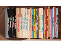 joblot of over 100 books manuals and broons n our wullie