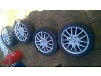 VW Golf MK5 GT sport alloys for sale