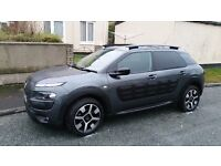 Mint Citroen Cactus 1 owner from new..full service history at main dealer.