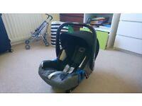 Britax Baby-Safe Plus SHR II car seat
