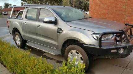 2016 Ford Ranger PX MkII XLT Double Cab Silver 6 Speed Sport Auto Gilles Plains Port Adelaide Area Preview