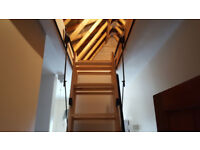 Loft ladder - Attic ladders and flooring