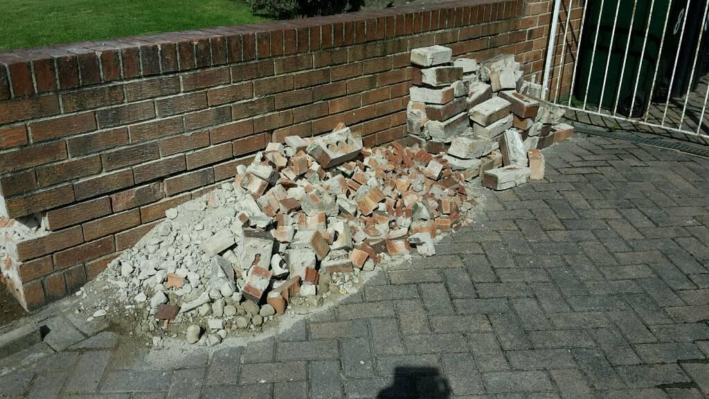 Free hardcore rubble bricks