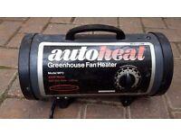 Greenhouse heater - Autoheat Greenhouse Fan Heater Model MP2