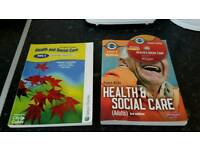 Health and social care Level 3 course books