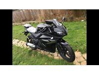 Same as Yamaha yzf 125 r brand new 0 miles Aprilia rs Honda cbr