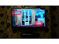 Samsung, smart, 3D, HD slim tv as new