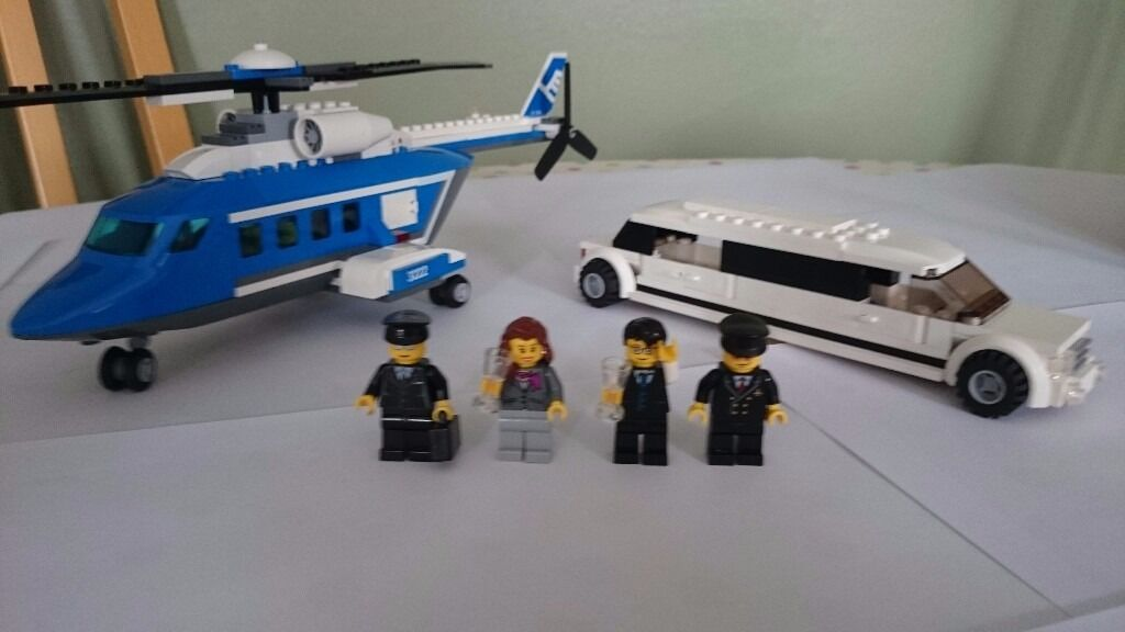 Lego 3222 Helicopter And Limousine Set In Bridgend Gumtree