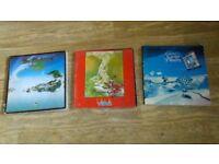3 x art books flights of icarus / roger dean views /album cover album hipgnosis - dragon's world