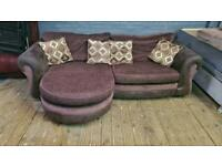 HARVEYS FABRIC SOFA CHAISE IN EXCELLENT CONDITION