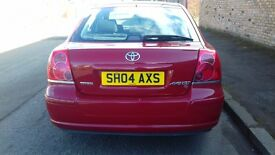 TOYOTA AVENSIS PETROL MOT TILL MARCH 2018 EXCELLENT CONDITION DRIVES REALLY WELL
