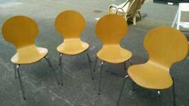 Chair's set of 4