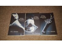 50 shades of grey trilogy Books
