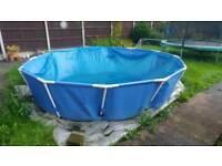12ft circular pool 30 inch high