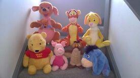 Winnie the Pooh big soft toys