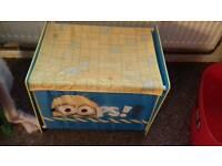 Child's minion toy chest