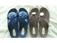 LADIES SANDELS SIZE 8